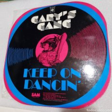 "Disques de vinyle: GARY""S GANG - KEEP ON DANCIG. Lote 228298505"