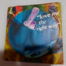 Discos de vinilo: RAPINATION AND KYM MAZELLE - LOVE ME THE RIGHT WAY. Lote 228300996