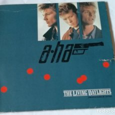 Discos de vinilo: A-HA - THE LIVING DAYLIGHTS (EXTENDED MIX) - 1987. Lote 228302480