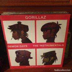 Disques de vinyle: GORILLAZ / DEMON DAYS THE INSTRUMENTALS / DOBLE ALBUM / NOT ON LABEL. Lote 228305720