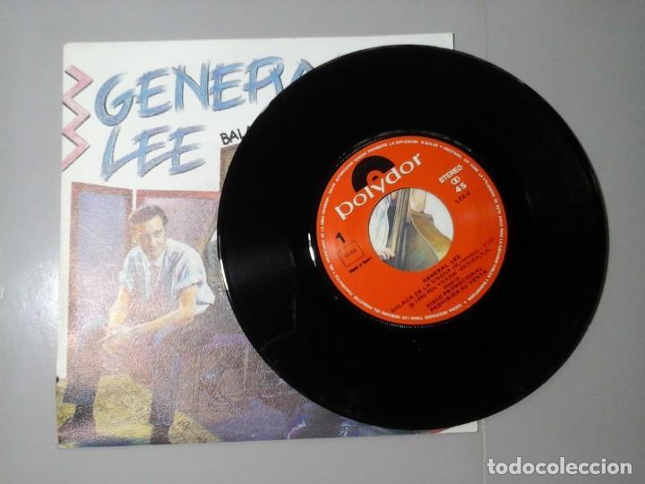 Discos de vinilo: GENERAL LEE. BALADA DE LA SIRENA. NO. SINGLE PROMOCIONAL 1991. ROCKABILLY ESPAÑOL. RARO. - Foto 3 - 228315491