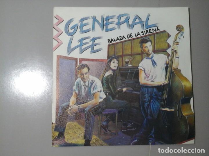 GENERAL LEE. BALADA DE LA SIRENA. NO. SINGLE PROMOCIONAL 1991. ROCKABILLY ESPAÑOL. RARO. (Música - Discos - Singles Vinilo - Grupos Españoles de los 90 a la actualidad)