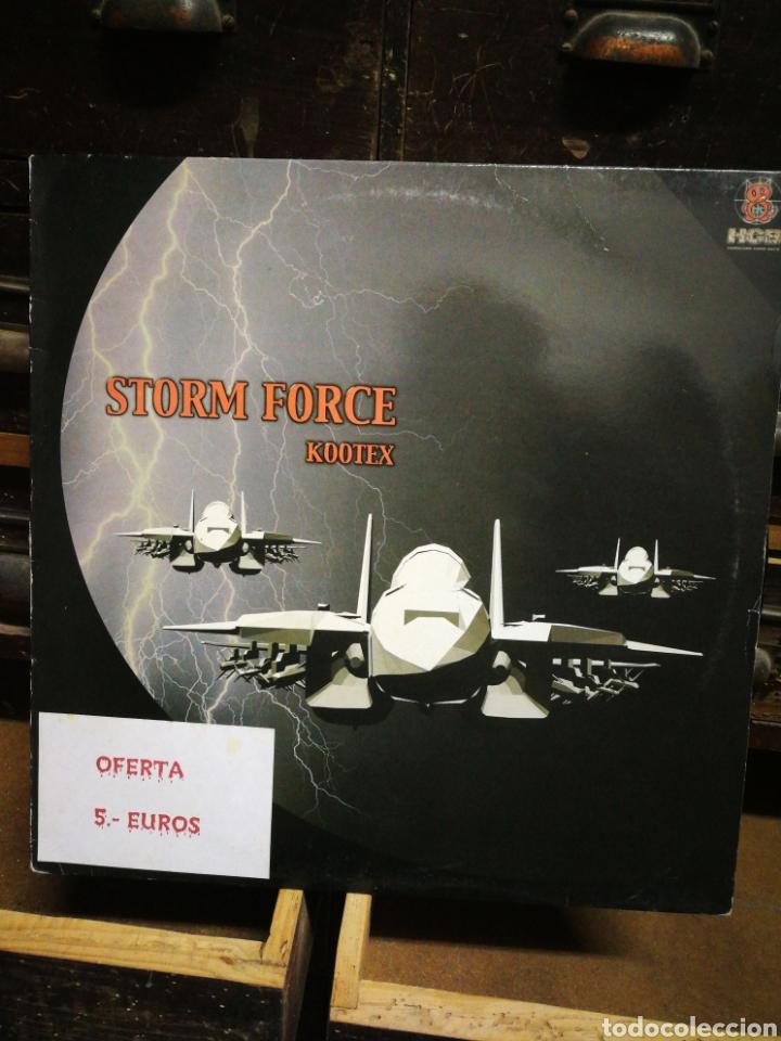 MAXI SINGLE STORM FORCE- KOOTEX (DIVUCSA), 2001. (Música - Discos de Vinilo - Maxi Singles - Techno, Trance y House)