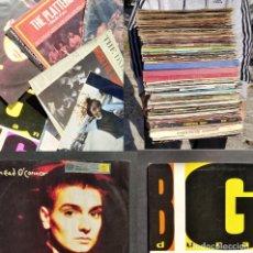Discos de vinilo: LOTE DE MAS DE 100 DISCOS ANTIGUO DISCO DE VINILO MAXI SINGLE LP ALBUM POP ROCK. Lote 228332675