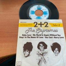 Disques de vinyle: THE SUPREMES 2 PLUS 2 VOL 2 (BABY LOVE) EP GERMANY (EPI20). Lote 228339575