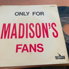 Discos de vinilo: BETTY O'BRIEN ONLY FOR MADISON'S FANS (SHEL'LL BE GONE) EP FRANCE LEP 2041F (EPI20). Lote 228341700