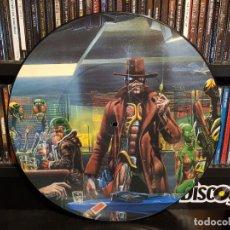 Discos de vinilo: IRON MAIDEN - STRANGER IN A STRANGE LAND - PICTURE DISC. Lote 228342680