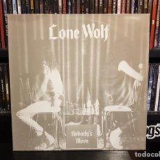 Discos de vinilo: LONE WOLF - NOBODY'S MOVE. Lote 228343155