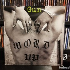 Discos de vinilo: GUN - WORD UP. Lote 228343515