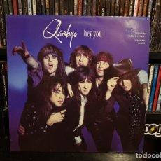 Discos de vinilo: THE QUIREBOYS - HEY YOU. Lote 228344485
