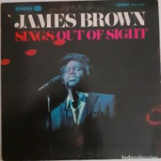 Discos de vinilo: JAMES BROWN. SINGS OUT OF SIGHT. Lote 228346740