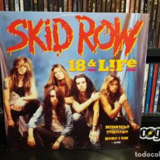 Discos de vinilo: SKID ROW - 18 AND LIFE. Lote 228346815