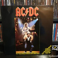 Discos de vinilo: AC/DC - FOR THOSE ABOUT TO ROCK (WE SALUTE YOU). Lote 228347356
