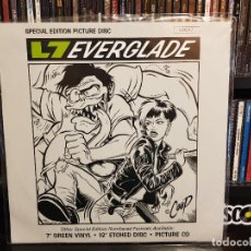 Discos de vinilo: L7 - EVERGLADE - PICTURE DISC. Lote 228348170
