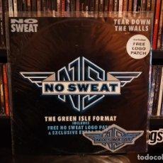 Disques de vinyle: NO SWEAT - TEAR DOWN THE WALLS. Lote 228349070