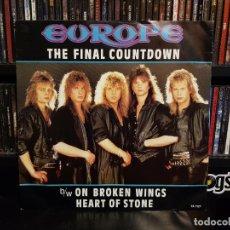 Discos de vinilo: EUROPE - THE FINAL COUNTDOWN. Lote 228349795