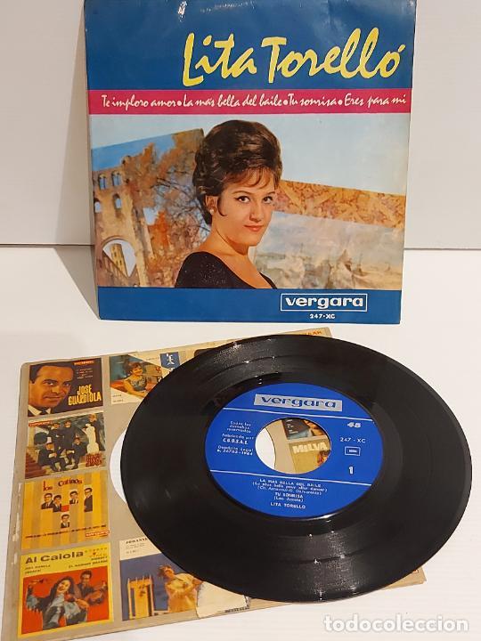 LITA TORELLÓ / TE IMPLORO AMOR / EP - VERGARA-1964 / MBC. ***/*** (Música - Discos de Vinilo - EPs - Solistas Españoles de los 50 y 60)