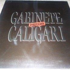 Disques de vinyle: GABINETE GALIGARI- PRIVADO-PORTADA ABIERTA-CONTIENE ENCARTE-EXCELENTE ESTADO. Lote 228350195