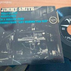 Discos de vinilo: JIMMY SMITH (WHAT'D I SAY) EP FRANCE (EPI20). Lote 228350570
