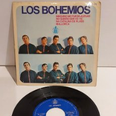 Dischi in vinile: LOS BOHEMIOS / NINGUNO ME PUEDE JUZGAR / EP - HISPAVOX-1966 / MBC. ***/***. Lote 228351123