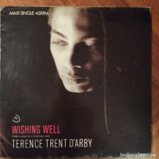 """Discos de vinilo: TERENCE TRENT D'ARBY - WISHING WELL (12"""", MAXI) (CBS) CBS 650923 6. Lote 228382945"""
