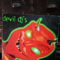 Discos de vinilo: MAXI SINGLE DEVIL DJ'S- ONE TIME (GERARD REQUENA), MAX MUSIC. 1996.. Lote 228401340