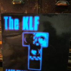 Discos de vinilo: THE KLF- LAST TRAIN TO TRANCENTRAL (LIVE FROM THE LOST CONTINENT), BLANCO Y NEGRO MUSIC. 1991.. Lote 228402165