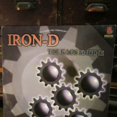 Discos de vinilo: MAXI SINGLE IRON-D- THE KAOS ENGINE (DIVUCSA), 2001.. Lote 228402605