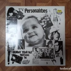 Discos de vinilo: TELEVISION PERSONALITIES - MUMMY YOUR NOT WATCHING ME - REED 1990 2º LP 1982 - CARPETA VGVG+ VIN EX. Lote 228403235