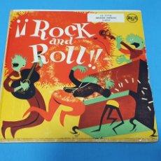 Discos de vinilo: DISCO DE VINILO - ¡¡ ROCK AND ROLL !! - CANTO DE GUERRA HAWAIANO / EL HOMBRE DEL BRAZO DE ORO. Lote 228403415