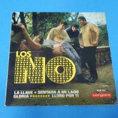 Discos de vinilo: DISCO DE VINILO - LOS NO - LA LLAVE / SENTADA A MI LADO - 1966. Lote 228404300