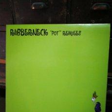 Discos de vinilo: DOBLE MAXI SINGLE (X2) RUBBERNECK POT REMIXES (KONSEQUENT) 1999.. Lote 228406565