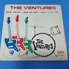 Discos de vinilo: DISCO DE VINILO - THE VENTURES - FUGITIVE / SCRATCHIN - 1964. Lote 228409805