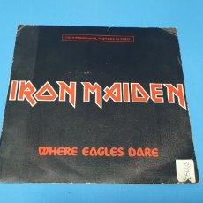 Discos de vinilo: DISCO DE VINILO - IRON MAIDEN - WHERE EAGLES DARE - 1984. Lote 228412730