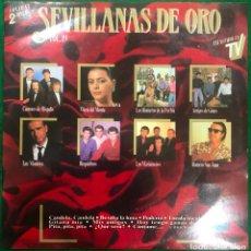 Discos de vinilo: SEVILLANAS DE ORO VOL.19 - DOBLE LP HISPAVOX DE 1989 ,RF-8904, BUEN ESTADO. Lote 228413810