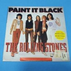 Discos de vinilo: DISCO DE VINILO - THE ROLLING STONES - PAINT IT BLACK - 1966. Lote 228423765