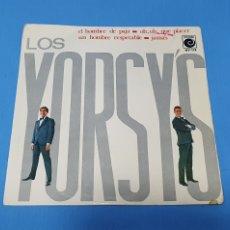 Discos de vinilo: DISCO DE VINILO - LOS YORSY'S - EL HOMBRE DE PAJA / OH, OH, QUE PLACER - 1966. Lote 228427205