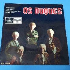 Discos de vinilo: DISCO DE VINILO - OS DUQUES - TUS VIAJES / TAKE FIVE - 1966. Lote 228428465