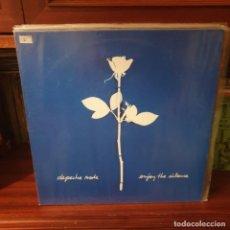Discos de vinilo: DEPECHE MODE / ENJOY THE SILENCE / EDICIÓN ESPAÑOLA / MUTE RECORDS 1990. Lote 228429955