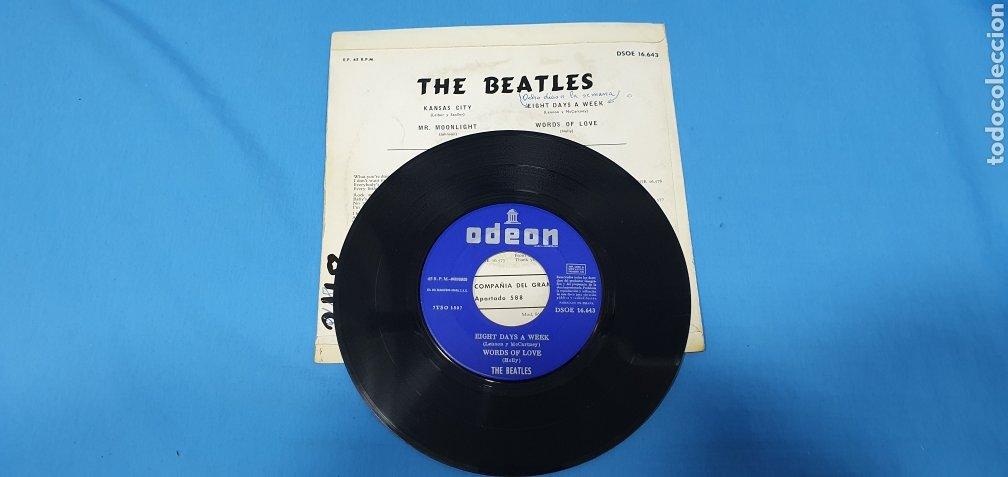 Discos de vinilo: DISCO DE VINILO - THE BEATLES - KANSAS CITY / MR. MOONLIGHT - 1964 - Foto 3 - 228436105