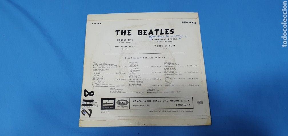 Discos de vinilo: DISCO DE VINILO - THE BEATLES - KANSAS CITY / MR. MOONLIGHT - 1964 - Foto 4 - 228436105