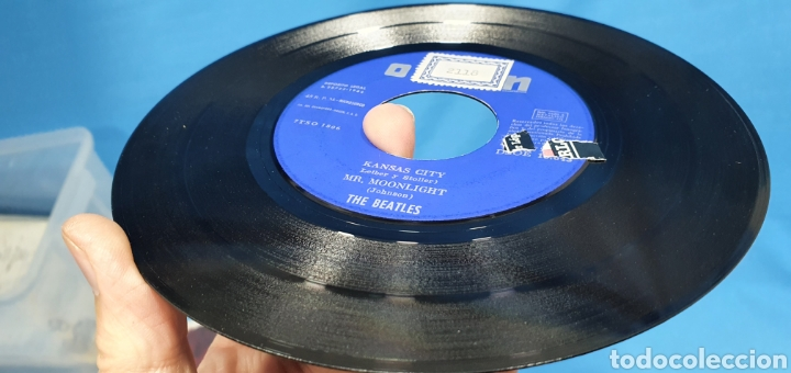 Discos de vinilo: DISCO DE VINILO - THE BEATLES - KANSAS CITY / MR. MOONLIGHT - 1964 - Foto 6 - 228436105