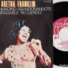 Discos de vinilo: ARETHA FRANKLIN - I CAN'T SEE MYSELF LEAVING YOU - SINGLE ESPAÑOL DE VINILO. Lote 228440060