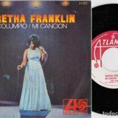 Discos de vinilo: ARETHA FRANKLIN - SEE SAW / MY SONG - SINGLE ESPAÑOL DE VINILO. Lote 228441820