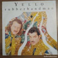 Discos de vinilo: YELLO , RUBBERBANDMAN, 1991, 3 TEMAS, MERCURY 868 341-1 (VG+_VG+). Lote 228444550