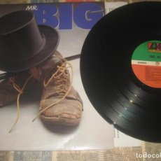 Discos de vinilo: MR. BIG ?– MR. BIG +ENCARTE (1989-ATLANTIC) OG USA LEA DESCRIPCION. Lote 228445290