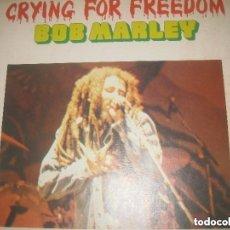 Discos de vinilo: BOB MARLEY - CRYING FOR FREEDOM - BOX 3 LP (TIME WIND 1983 -) OG HOLLAND. Lote 228445515