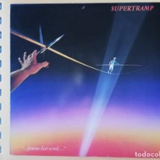 Discos de vinilo: ... FAMOUS LAST WORDS... - SUPERTRAMP. Lote 228455840