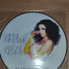 """Discos de vinilo: DANNII MINOGUE & JASON NEVINS 12"""" TOUCH ME LIKE THAT (PICTURE DISC). Lote 228458690"""