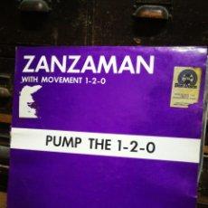 Discos de vinilo: ZANZAMAN- PUMP THE 1-2-0 (RECORD RECORDS).. Lote 228465475